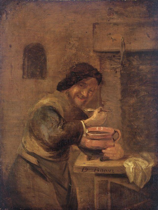 De papeter, door Daniel Boone, 1650 - 1698.