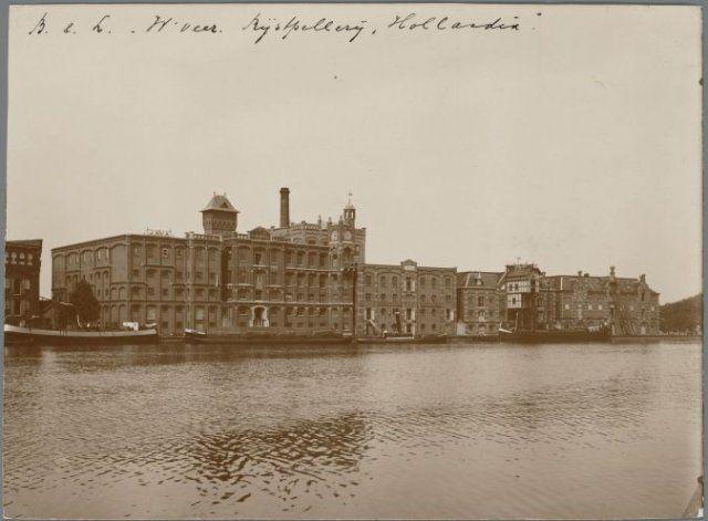 Rijspellerij Hollandia 1915