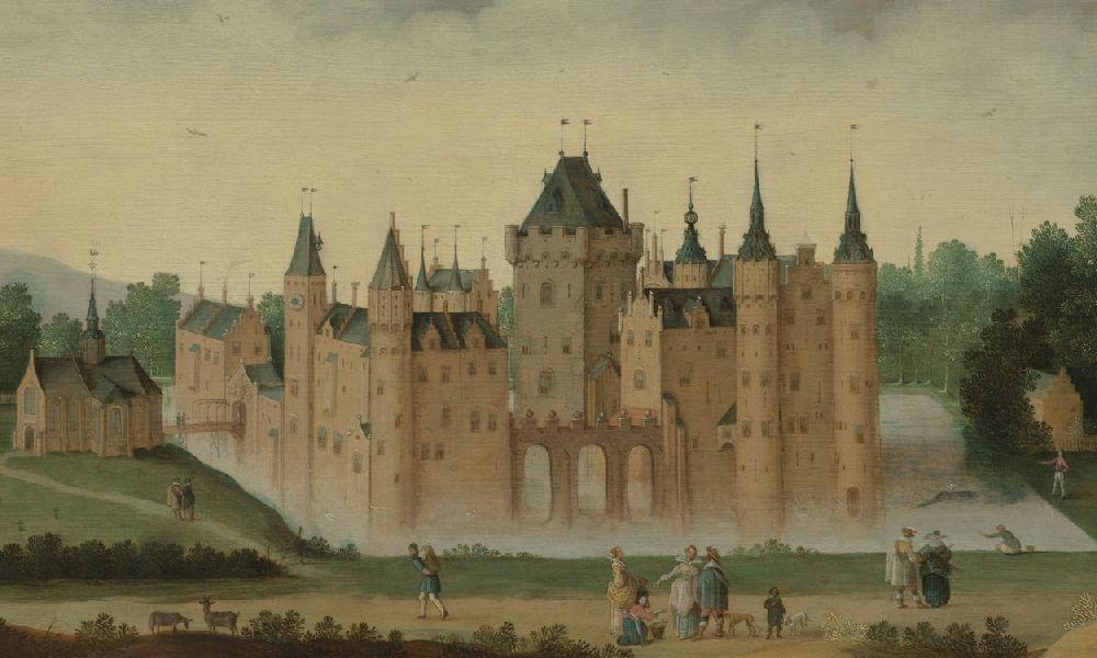 Kasteel Egmond in 1638