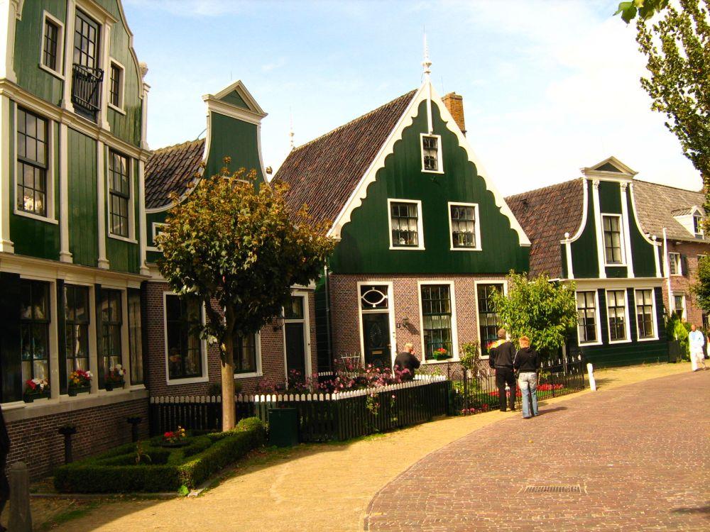 Zaans groene huisjes