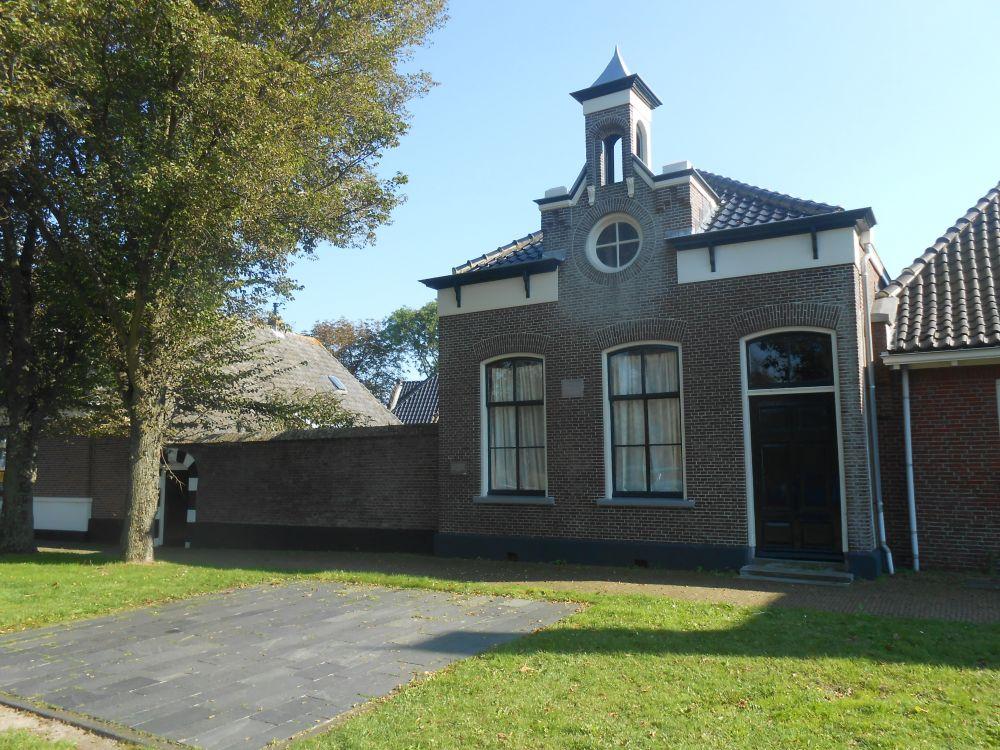 Een deel van Hoeve Overslot in Egmond aan Den Hoef
