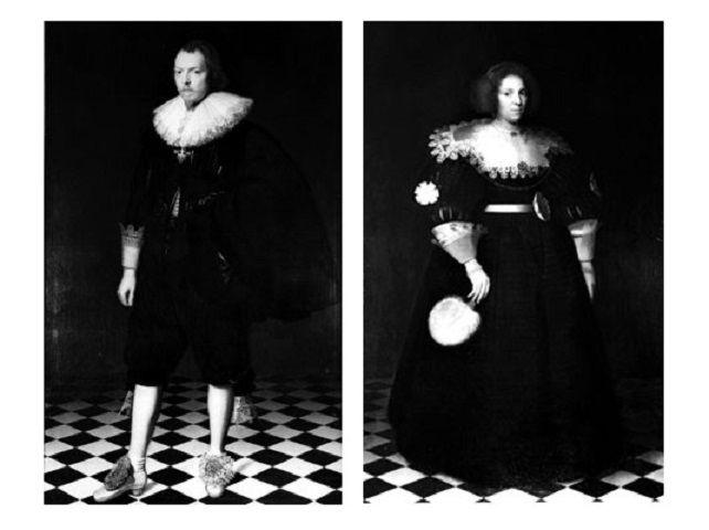 Frans Banninck Cocq en Maria Overlander