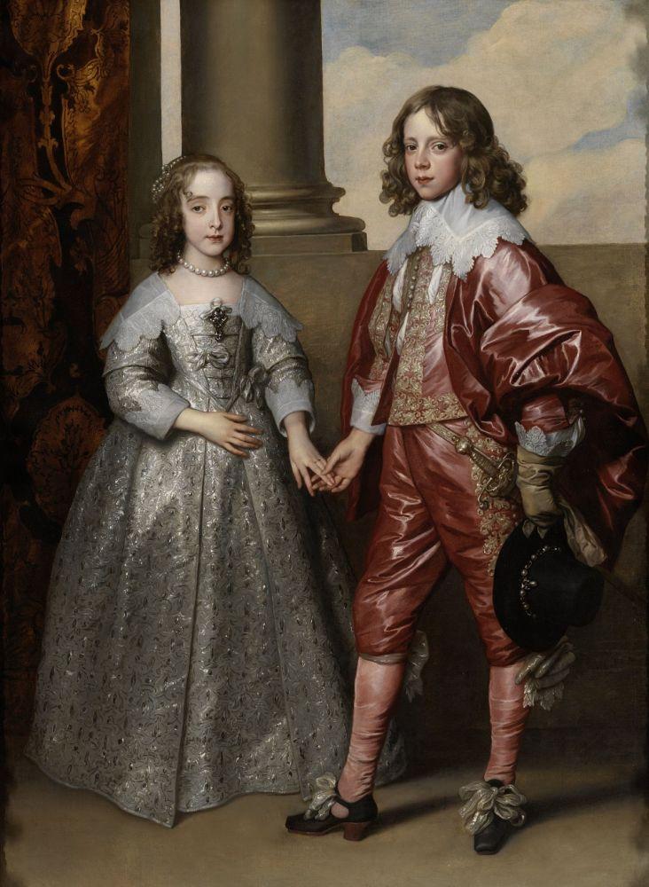 Willem II en zijn bruid Maria Stuart