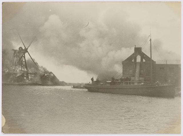 De fatale brand van De Grootvorst in 1928