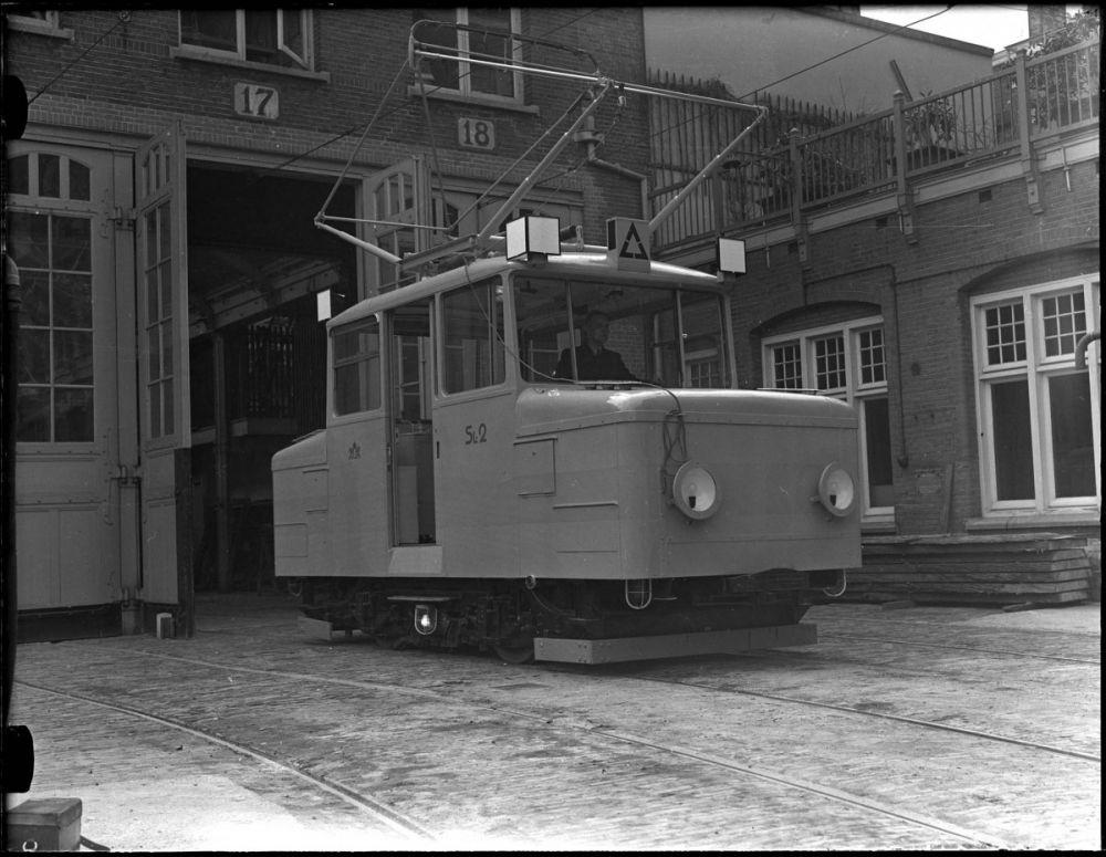 Bij de oude tramremise