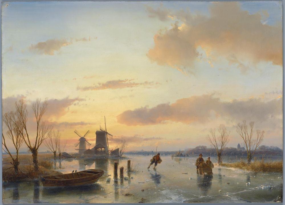 Winterlandschap, 1846.