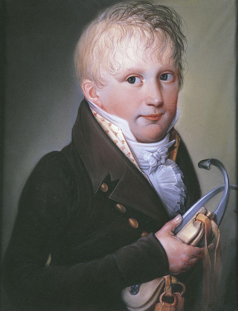 Portret van Maximilianus van der Heyden, ca. 1811.