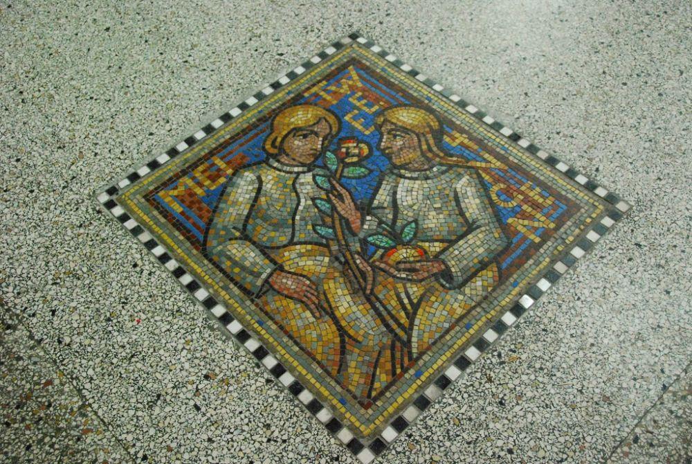 Decoratie in de Nieuwe Sint Bavo