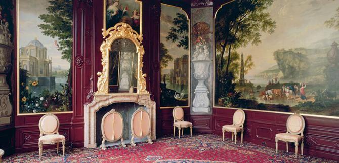 Interieur van een zeventiende-eeuws grachtenpand
