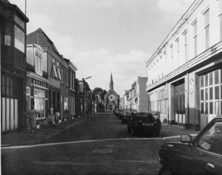 De Visbuurt in Den Helder omstreeks 1982.
