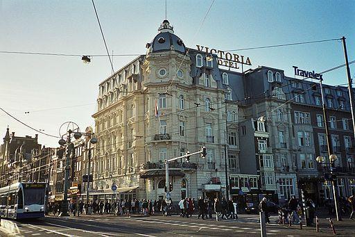 Het Victoria Hotel vandaag de dag