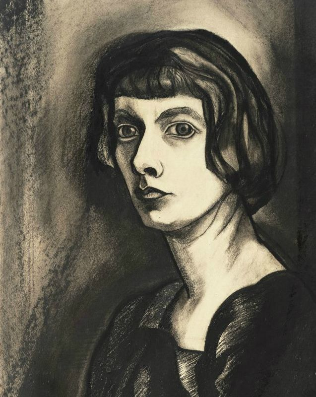 Zelfportret van Charley Toorop. Beeld: Collectie Stedelijk Museum Alkmaar