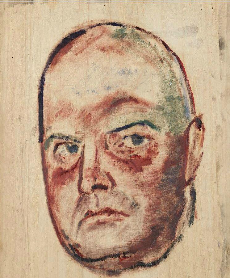 Portret van Piet Boendermaker door Toon Kelder