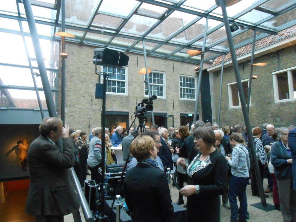 De opening trok veel publiek