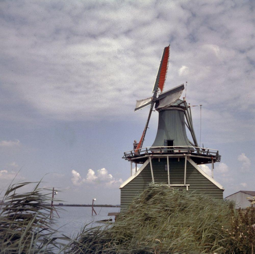 Mosterdmolen De Huisman, Zaanse Schans.