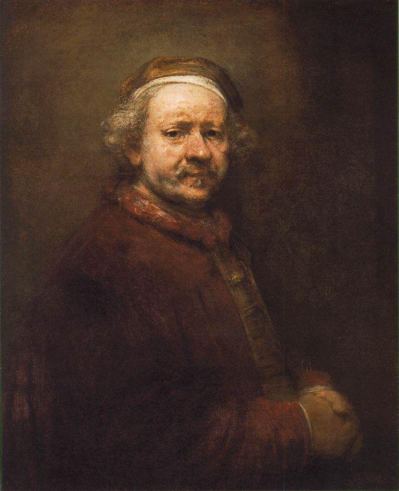 Zelfportret, 1669