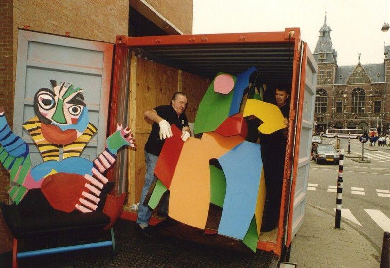 Kunstwerken van Karel Appel