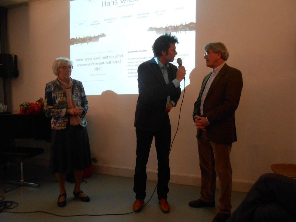 Gabriel Verheggen, Hanneke Veenhof en Joost Wiesman