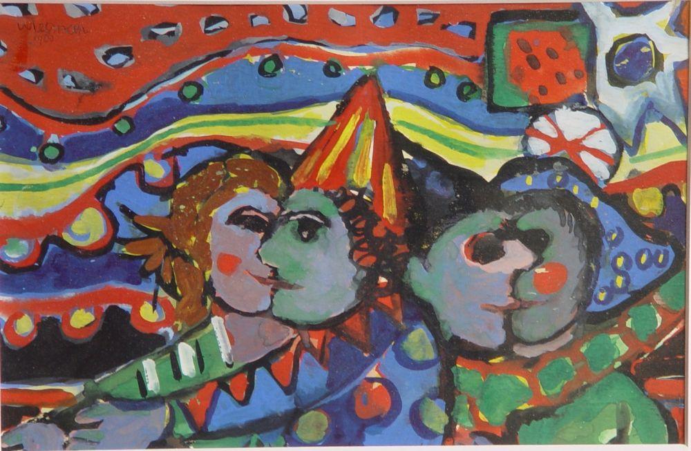 Schilderij Wiesman