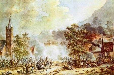 Slag bij Castricum, 1799.