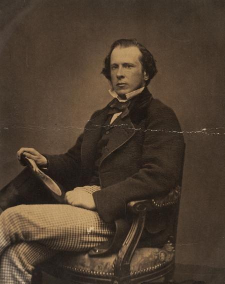 M.S.P. Pabst, de eerste burgemeester van Haarlemmermeer.