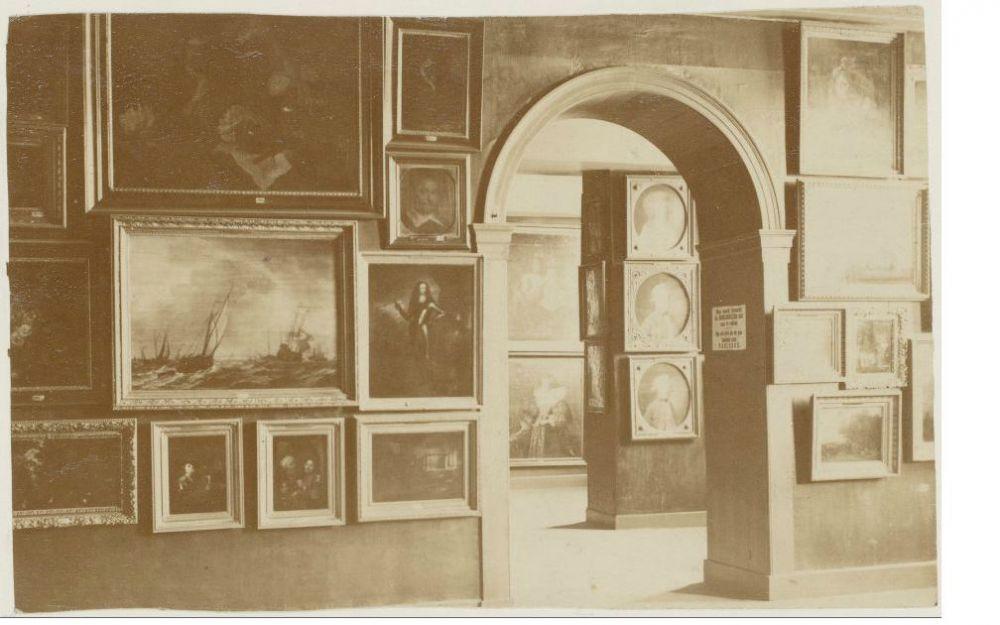 Interieur van Het Trippenhuis in Amsterdam. Beeld: Stadsarchief Amsterdam