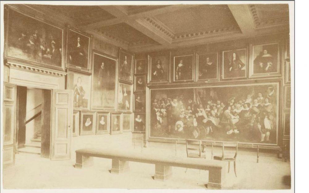 Het interieur van Het Trippenhuis in Amsterdam. Beeld: Stadsarchief Amsterdam