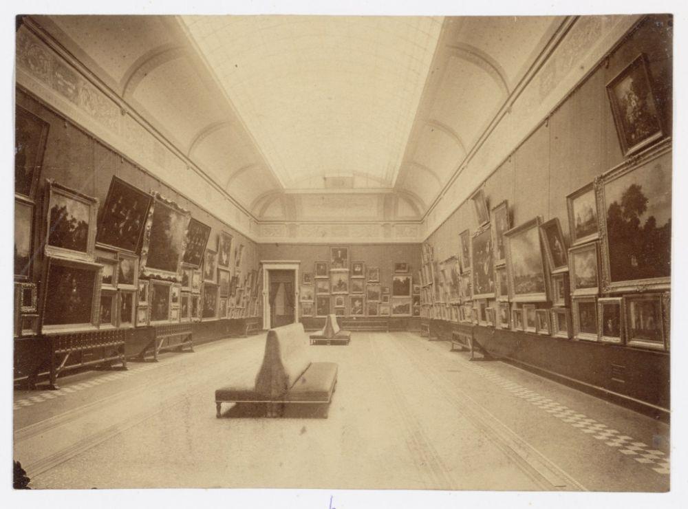Interieur van het Rijksmuseum. Beeld: Stadsarchief Amsterdam