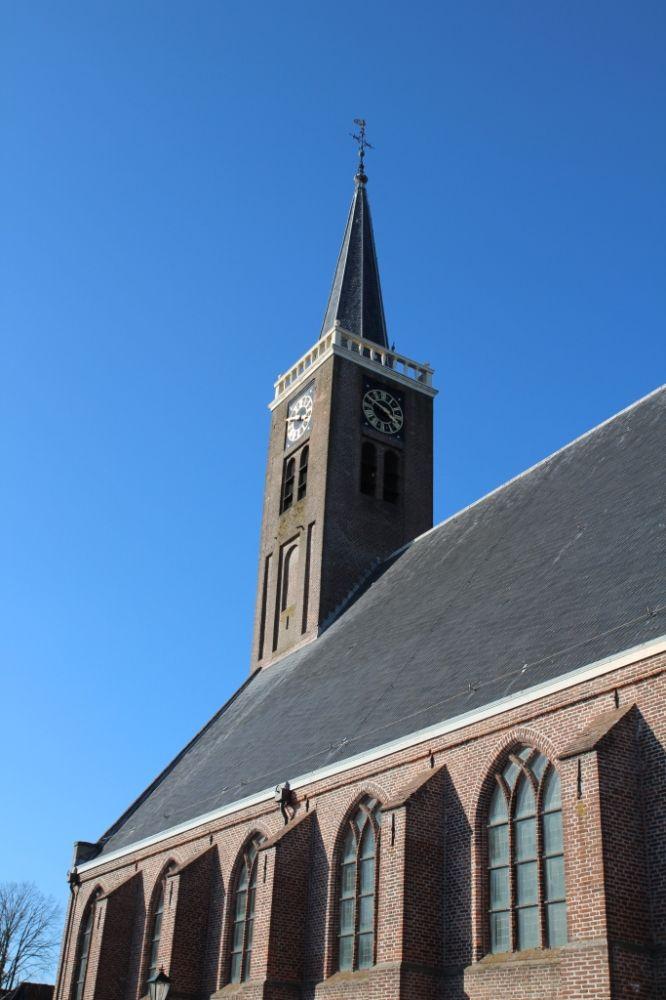 De Grote Kerk van Schermerhorn. Beeld: Regionaal Archief Alkmaar via Flickr.