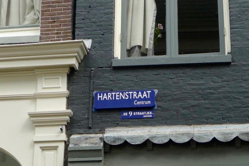 De Hartenstraat, deel van de Negen Straatjes in Amsterdam. Beeld: Nigel Goodman via Flickr.