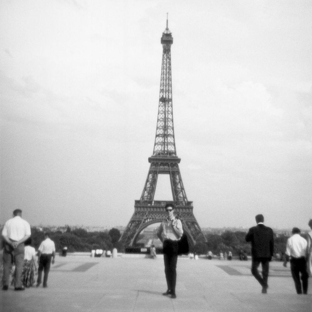 Frans Molenaar in Parijs