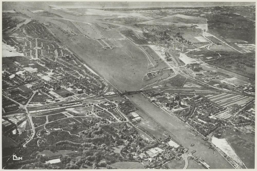 Luchtfoto Noordzeekanaal