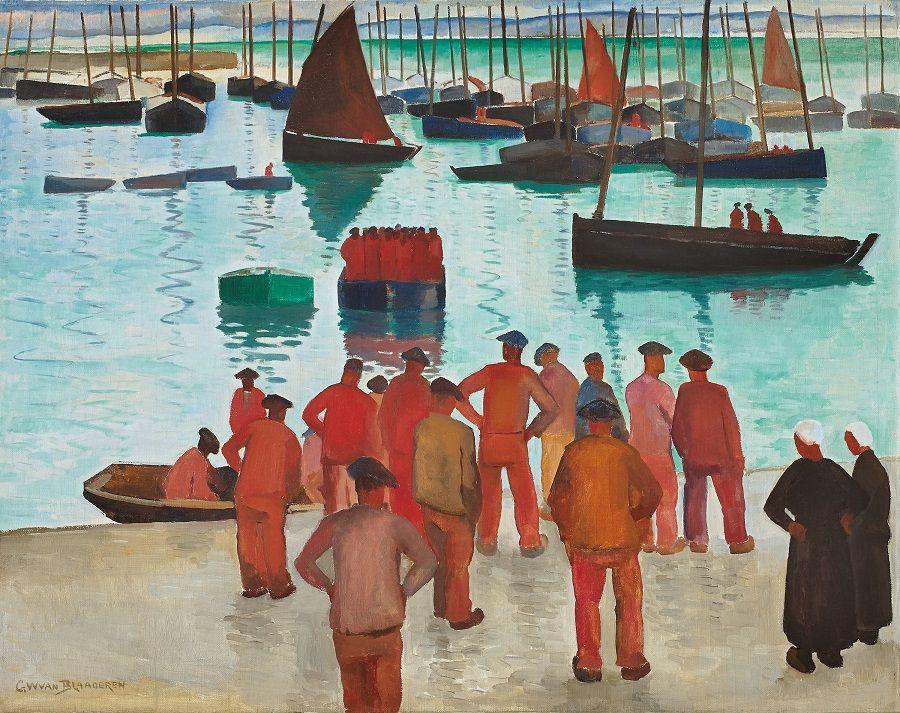 Port de pêche en Bretagne