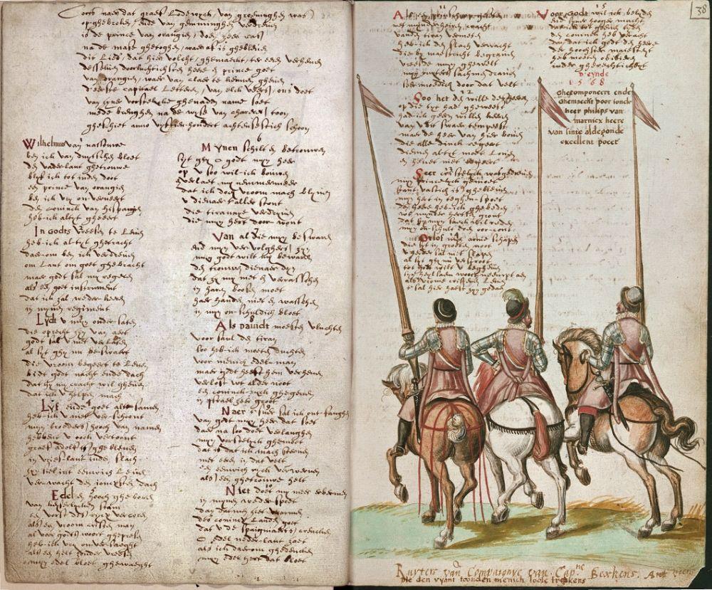 Het oudste handschrift van het Wilhelmus