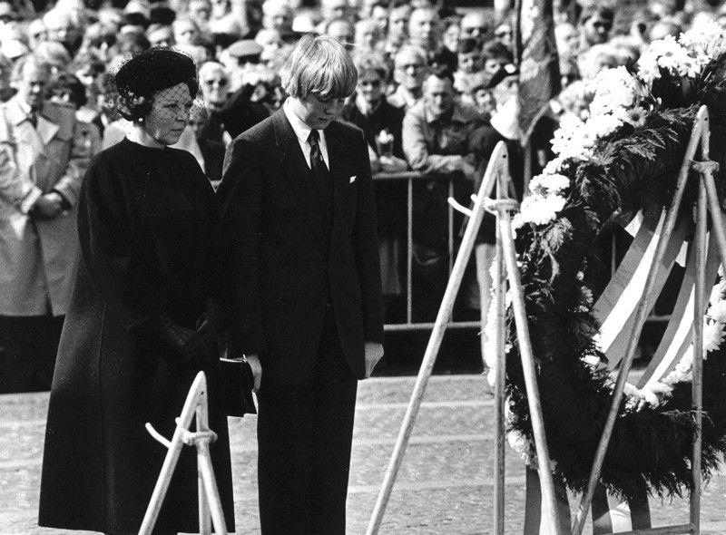 1983: koningin Beatrix en prins Willem-Alexander