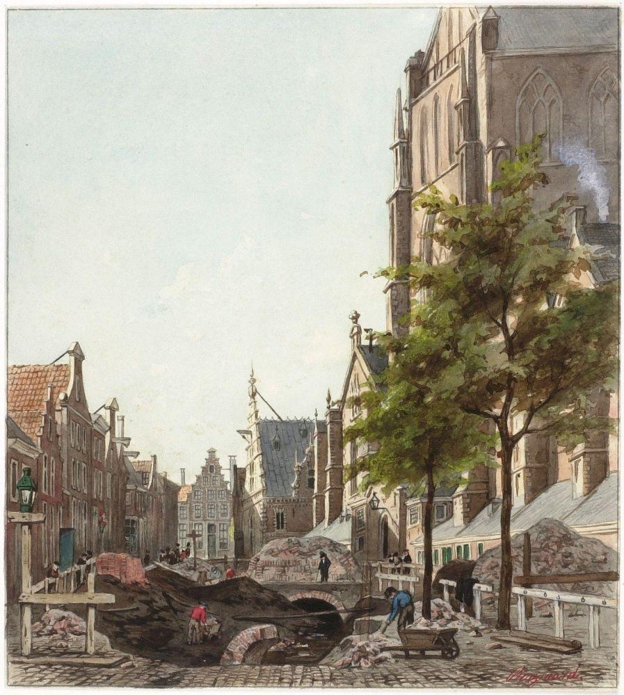 Dempen van De Beek in Haarlem