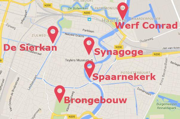 Vijf verdwenen gebouwen in Haarlem