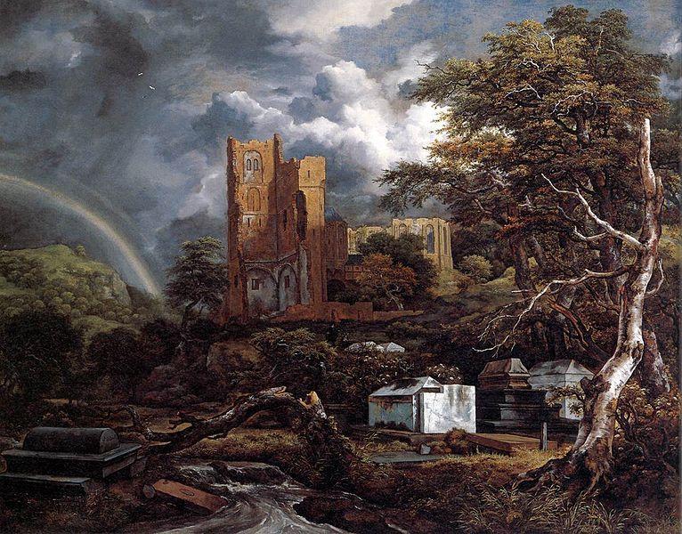 'De Joodse begraafplaats' van Jacob van Ruisdaal, geïnspireerd op Beth Haim