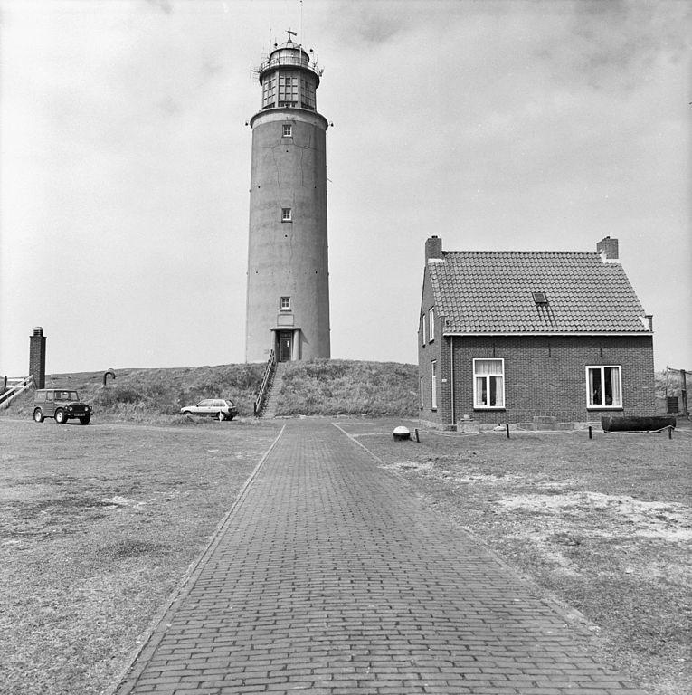 Vuurtoren Eierland 1985