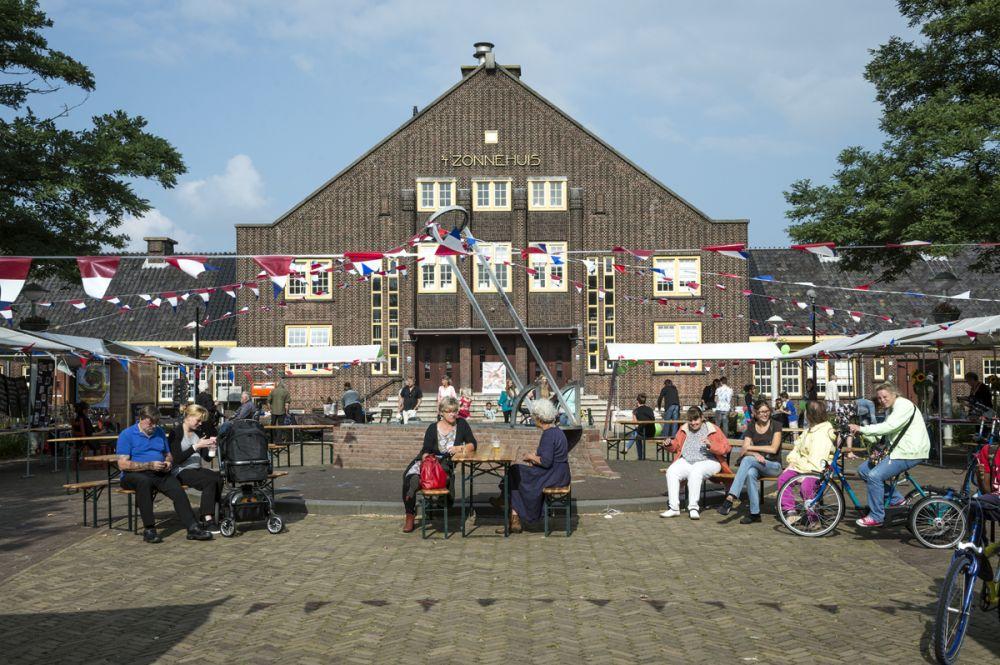 Buurtfeestje Zonnehuis