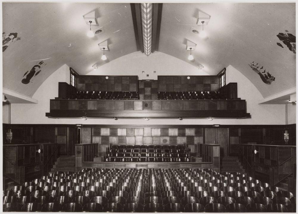 Interieur Zonnehuis n 1932