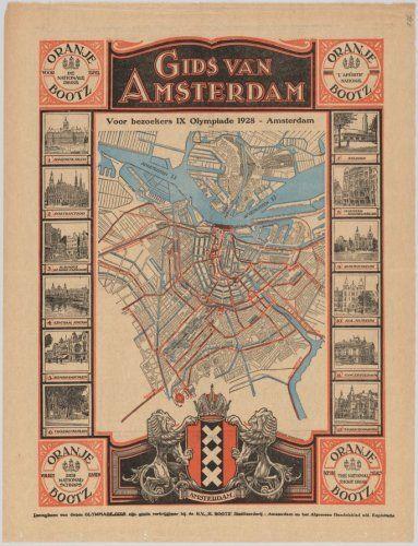 Gids van Amsterdam voor Olympiade bezoekers