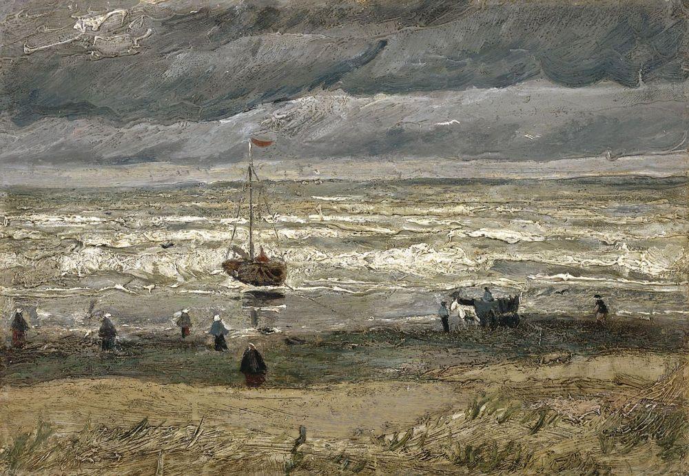 Zeegezicht bij Scheveningen