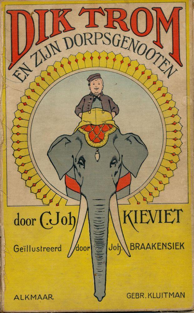 Boekomslag 'Dik Trom en zijn dorpsgenoten'. Beeld: janwillemsen, flickr.com