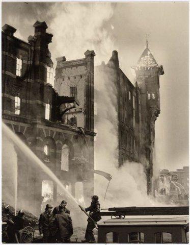 Brandweer in actie