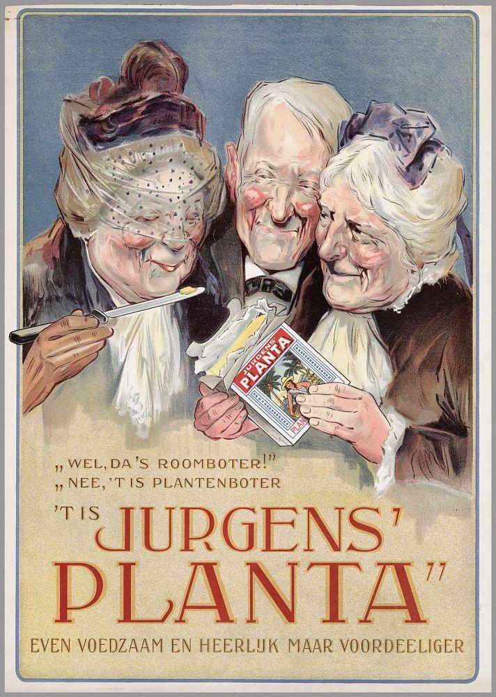 Jurgens Planta, boterreclame
