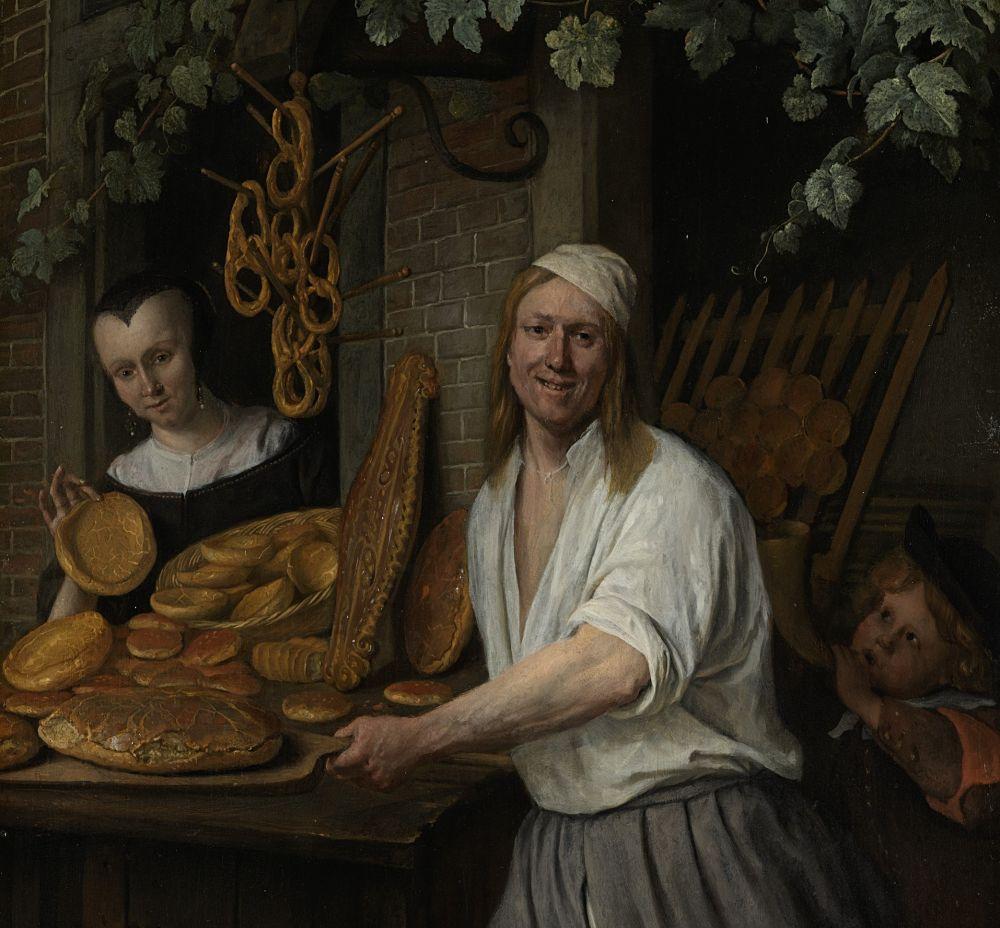 Bakker Arent Oostwaard en zijn vrouw Catharina Keizerswaard