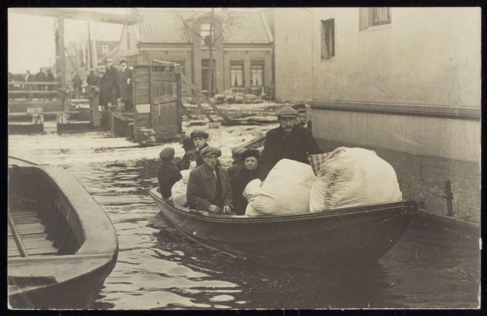 Vluchtelingen uit Oostzaan