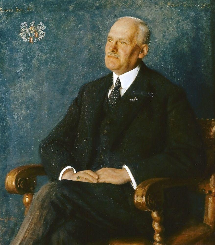 Hoofdingenieur-directeur van Provinciale waterstaat Noord-Holland, jhr.ir. C.J.A. Reigersman.