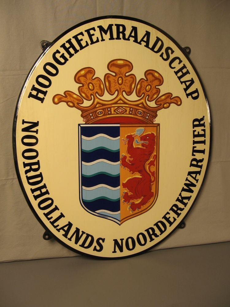 Het wapen van Hoogheemraadschap Noordhollands Noorderkwartier